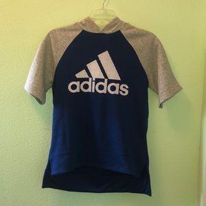 Adidas hoodie szXS